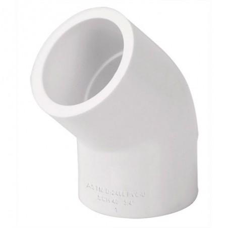 Codos 45º de PVC Hidráulico FOSET