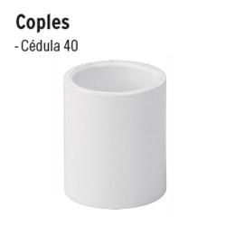 Coples de PVC Hidráulico FOSET