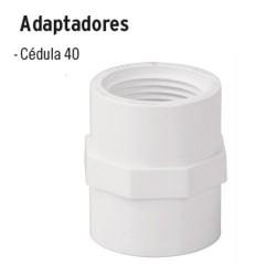 Adaptadores de PVC Hidráulico FOSET