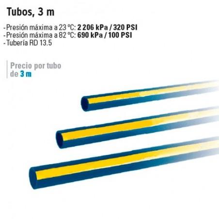 Tubos de CPVC Azul FOSET