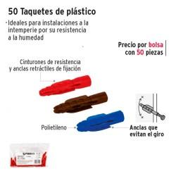 Taquetes de Plastico FIERO