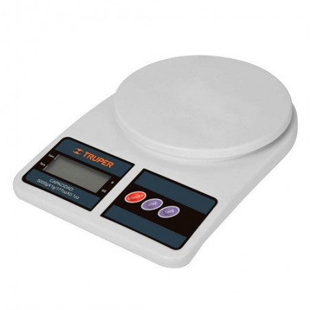 Bascula Digital para Cocina 5 kg TRUPER