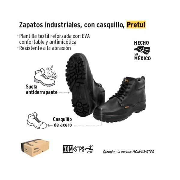 Zapatos Industriales Con Casquillo PRETUL