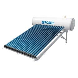 Calentador Solar de Tubo al Vacio tipo Heat Pipe FOSET