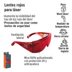 Lente Rojo para Laser TRUPER