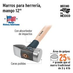 """Marro para Herreria Mango 12"""" TRUPER"""