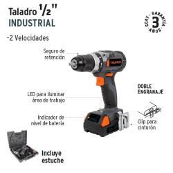 """Taladro 1/2"""" Industrial TRUPER"""