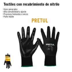 Guante Textil con Recubrimiento de Nitrilo PRETUL
