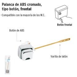 Palanca de ABS Cromado Tipo Boton Frontal FOSET