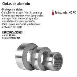 Cinta de Aluminio 48mm TRUPER
