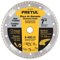 Disco de Diamante Rin Turbo Usos Generales PRETUL