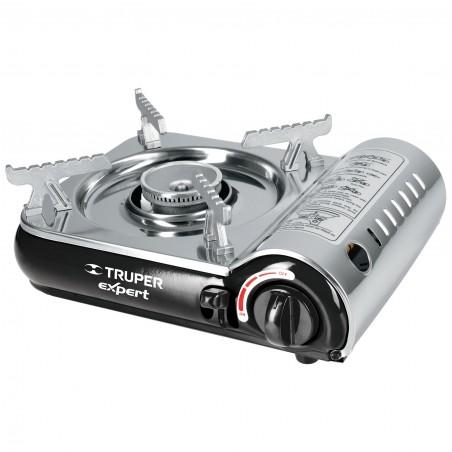 Estufilla Portatil Compacta con Encendido Electronico TRUPER