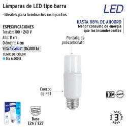 Lampara de LED tipo Barra VOLTECK