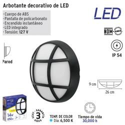 Arbotante Decorativo de LED VOLTECK