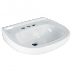 Lavabo Cerámico Blanco Con...