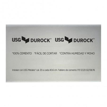 Panel de Cemento Durock