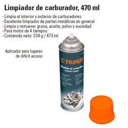 Limpiador de Carburador 470 ml TRUPER
