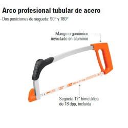 Arco Profesional Tubular de Acero TRUPER