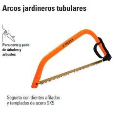 Arco Jardinero Tubular TRUPER