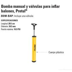 Bomba Manual PRETUL