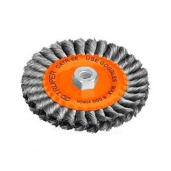 Carda Circular Alambre Trenzado Calibre 0.5 mm TRUPER