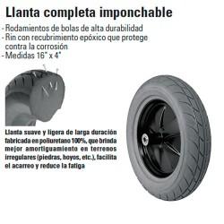 Llanta Completa Imponchable TRUPER