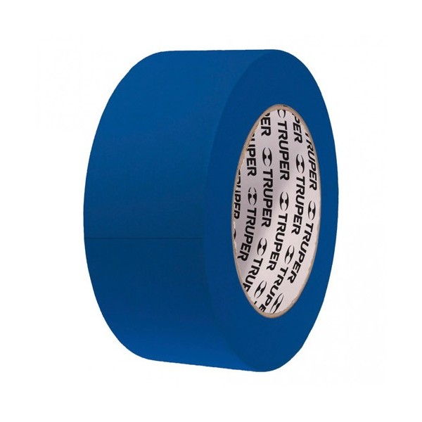 Cinta Masking Tape Azul 50 m TRUPER