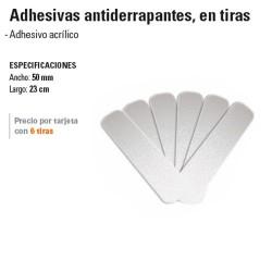 Cinta Adhesiva Antiderrapante en Tiras TRUPER
