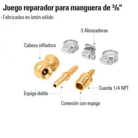 "Juego Reparador para Manguera de 3/8"" TRUPER"