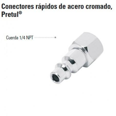 Conectores Rápidos de Acero Cromado PRETUL