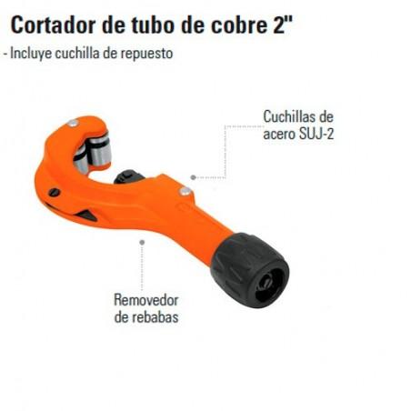"""Cortador de Tubo de Cobre 2"""" TRUPER"""