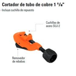 """Cortador de Tubo de Cobre 1 1/8"""" TRUPER"""