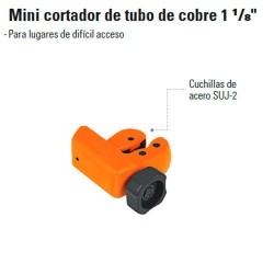 """Mini Cortador de Tubo de Cobre 1 1/8"""" TRUPER"""