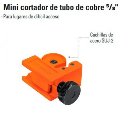 """Mini Cortador de Tubo de Cobre 5/8"""" TRUPER"""