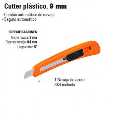 Cutter Plástico 9 mm TRUPER