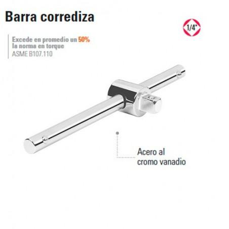 "Barra Corrediza 1/4"" TRUPER"
