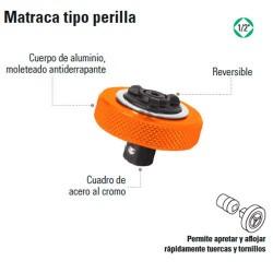 """Matraca Tipo Perilla 1/2"""" TRUPER"""
