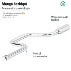 "Mango Berbiquí 1/2"" TRUPER"