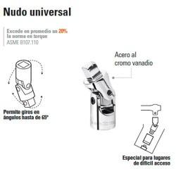 """Nudo Universal 3/4"""" TRUPER"""