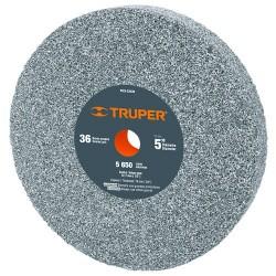 """Piedra Para Esmeril Oxido de Aluminio 5"""" y 6"""" TRUPER"""