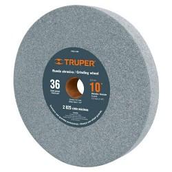 "Piedra Para Esmeril Oxido de Aluminio 10"" TRUPER"