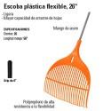 """Escoba Plástica Flexible 26"""" TRUPER"""