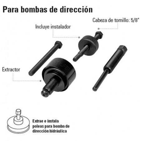 Extractor Para Bombas de Dirección TRUPER
