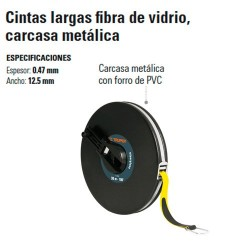 Cinta Larga Fibra de Vidrio Carcasa Metálica TRUPER