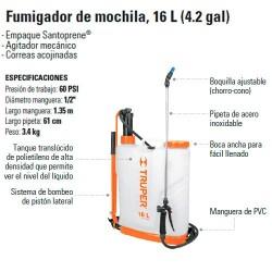 Fumigador de Mochila 16 L (4.2 gal) TRUPER