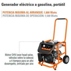 Generador Eléctrico a Gasolina Portátil 5.5 HP TRUPER