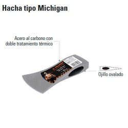 Hacha tipo Michigan TRUPER