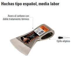 Hacha tipo Español Media Labor TRUPER