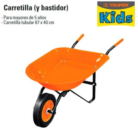 Carretilla TRUPER KIDS