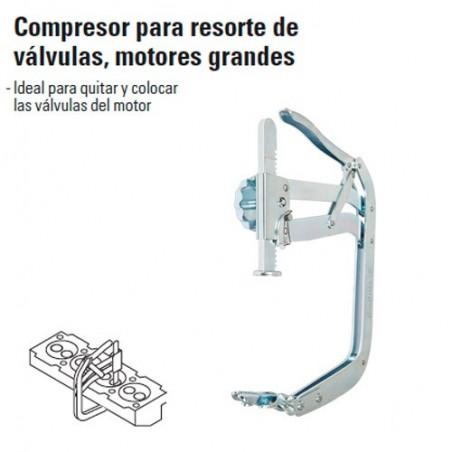 Compresor para Resorte de Válvulas Motores Grandes TRUPER